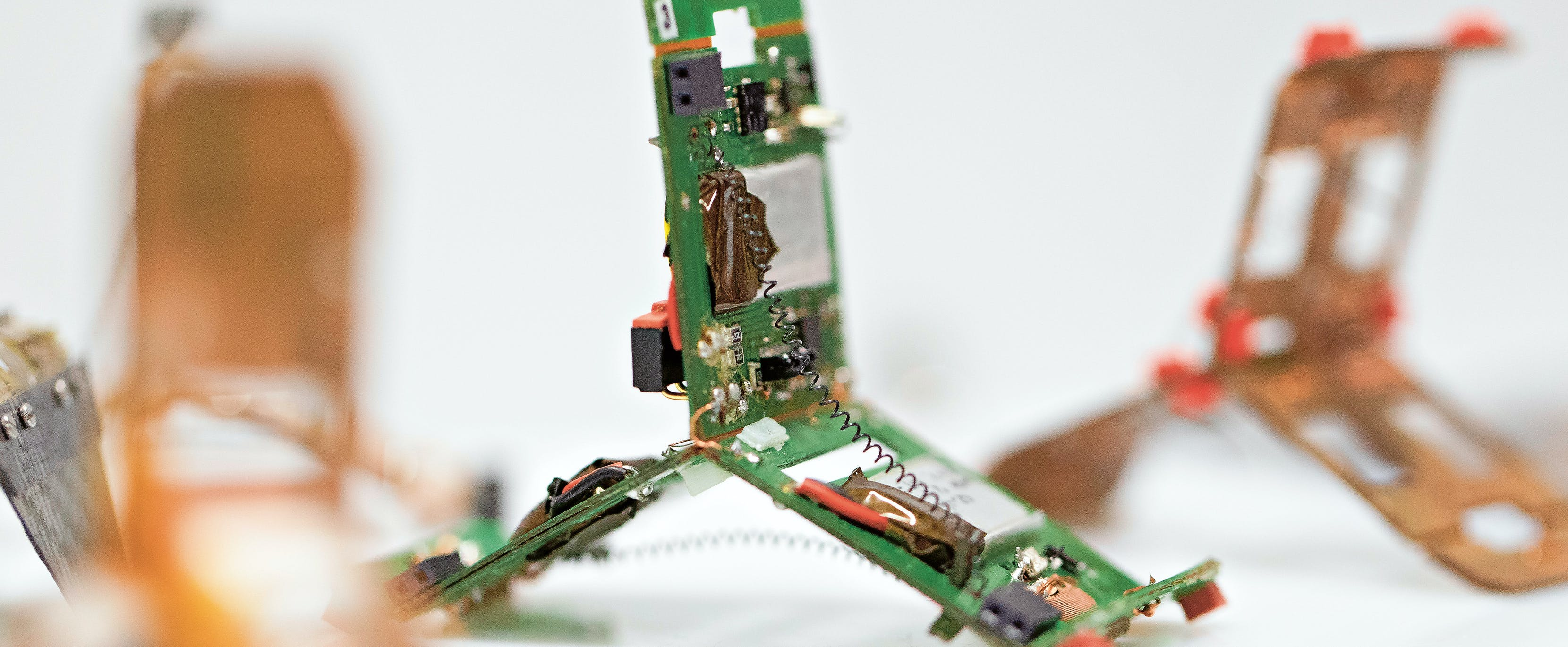 So sieht ein Tribot im Detail aus